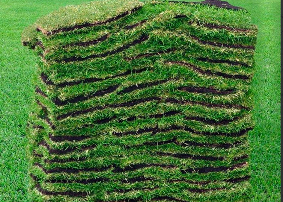 How many square feet of sod are on a sod pallet?